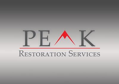 PEAK RESTORATION SERVICES | LOGO DESIGN