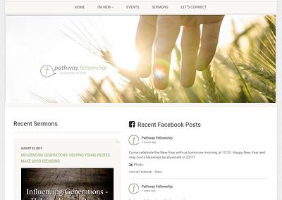 PATHWAY FELLOWSHIP | WEBSITE & LOGO DESIGN