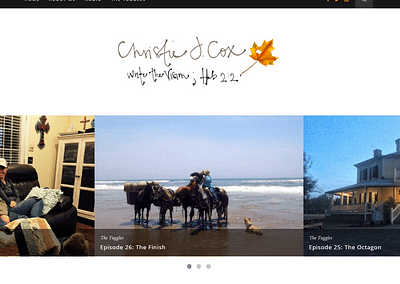CHRISTIE COX | WEBSITE & LOGO DESIGN
